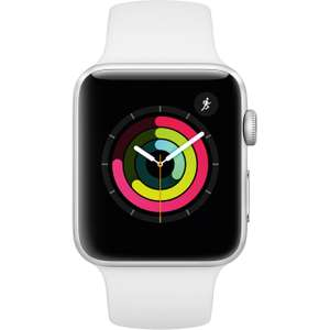 Apple Watch 42 mm Series 3 with Sports Band GPS in White - £183.20 using code @ AO / eBay