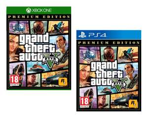 Grand Theft Auto V Premium Edition (Xbox One/PS4) for £16.85 Delivered @ Base