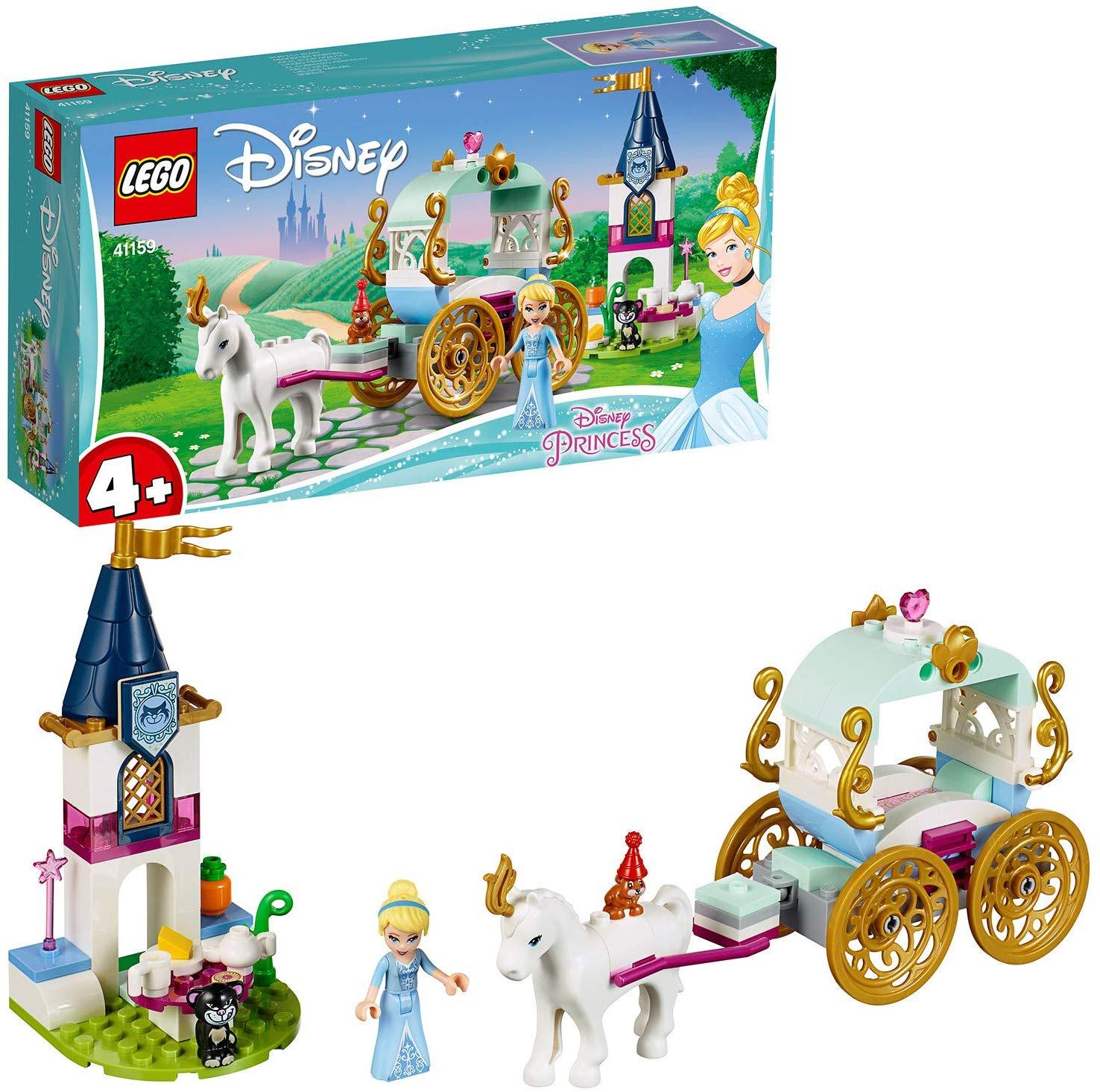 LEGO 41159 Disney Princess Cinderella's Carriage Ride £10 Amazon Prime / +£4.49 non Prime
