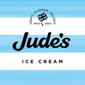 £1 off any big tub of Jude's Ice Cream with printable voucher @ Judes
