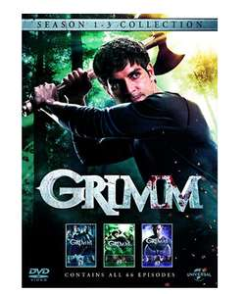 Grimm - Season 1-3 [DVD] £2.74 Prime  / £5.73 non prime @ Amazon