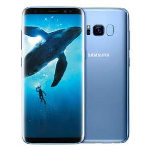 Samsung Galaxy S8 Plus G955FD 4G 64GB Dual Sim Sim Free/Unlocked - Coral blue £281.19 at eGlobal Central