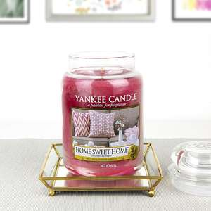 Large 623g Yankee Candle Home Sweet Home Jar & Tray Set £15 Delivered / £14.25 For New Accounts With Code @ Yankee Bundles