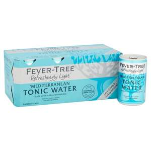 Fever Tree Light tonics 8 x 150ml cans £3 at Tesco in-store and on-line