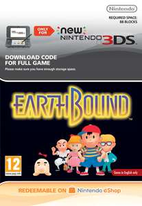 Earthbound for N3DS/2DS XL - £5.85 at Shopto