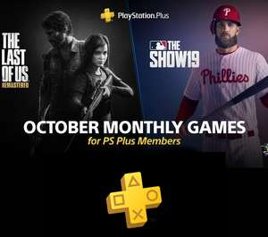 PlayStation Plus for October (The Last of Us Remastered / MLB 19)
