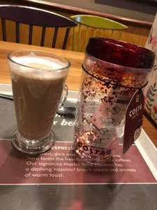 Reusable Cup  £4.95 and free drink  worth of £3.60 @ Costa