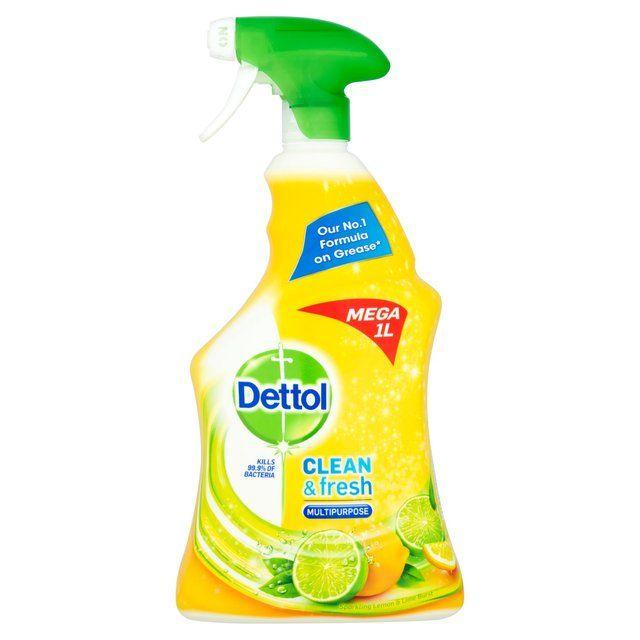 Dettol Power & Fresh Multi Purpose Cleaner Spray Lemon & Lime 1L £2 @ Morrisons