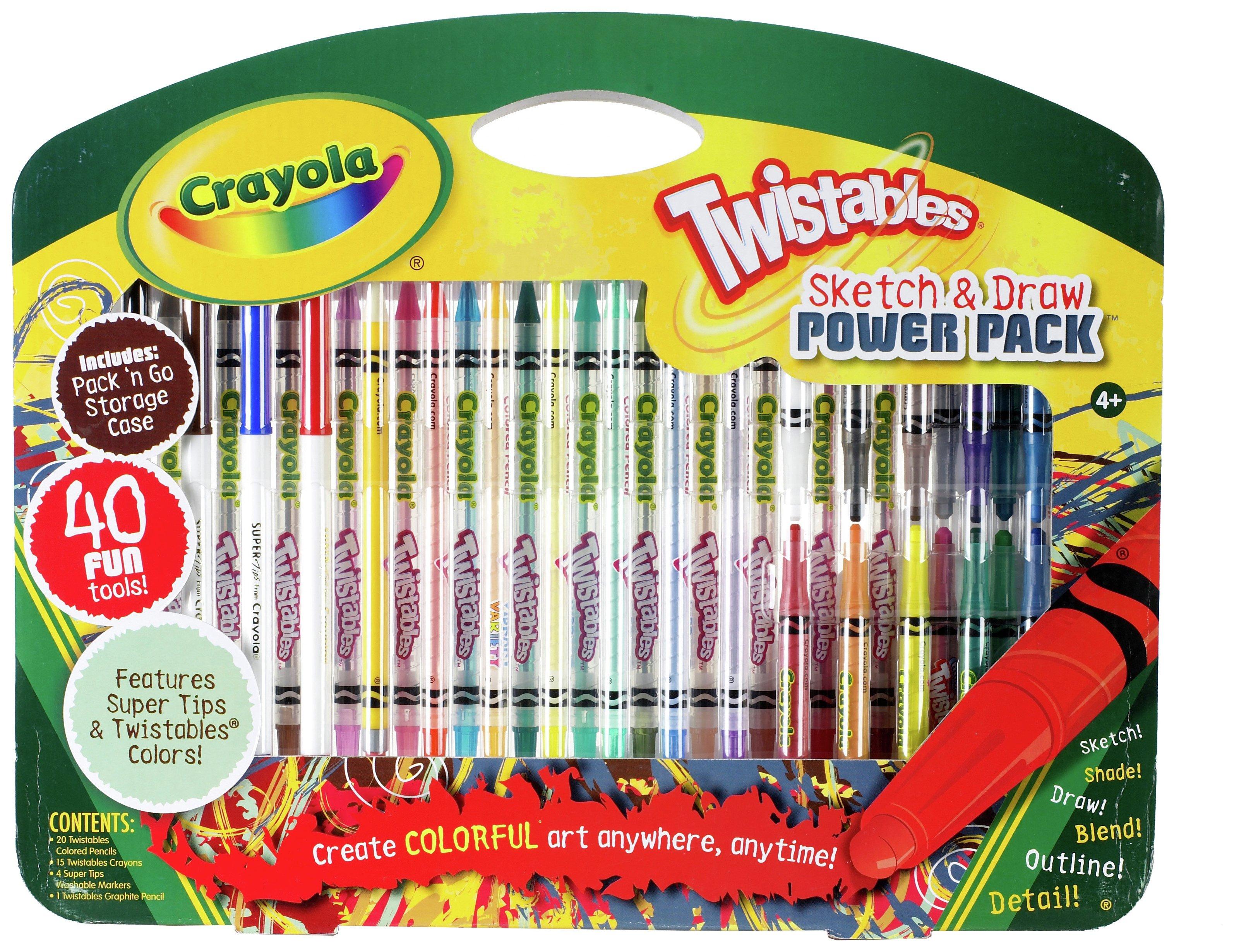 Crayola Twistables Sketch and Draw Set (40 Pieces) for £3.50 @ Argos