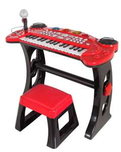 Chad Valley Sing Along Keyboard, Stand and Stool only £10 @ Argos (or Guitar, Microphone and Amplifier £10)