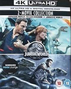 Jurassic World: Fallen Kingdom + Jurassic World (4K Ultra HD + Digital Download) [New & Sealed] - £8.99 Delivered @ Youberdeals91/eBay