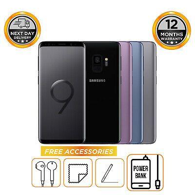 Samsung Galaxy S9 SM-G960F 64GB Unlocked Sim Free Mobile Phone £327.95 ebay /  hitechelectronicsuk