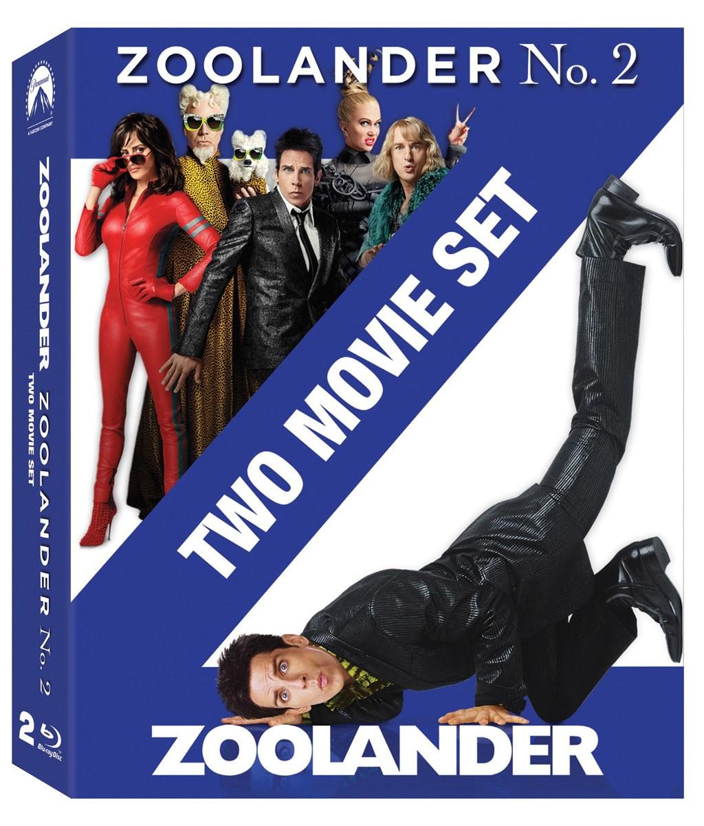 ZooLander 1 + 2 Doublepack Movies Blu-Ray Boxset £4.92 @ Zoom