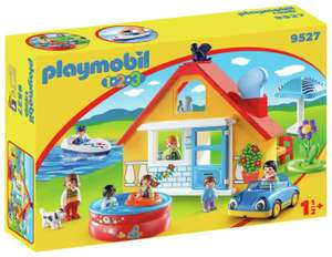 Playmobil 9527 123 Holiday Cottage Playset £19.99 at Argos