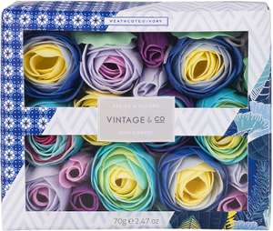 Vintage & Co Braids and Blooms Soap Flowers, 70 g £8.48 at Amazon Prime / £12.97 Non Prime