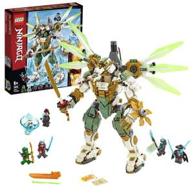 LEGO 70676 NINJAGO Lloyd's Titan Mech Action Figure, Masters of Spinjitzu Playset £43 Amazon