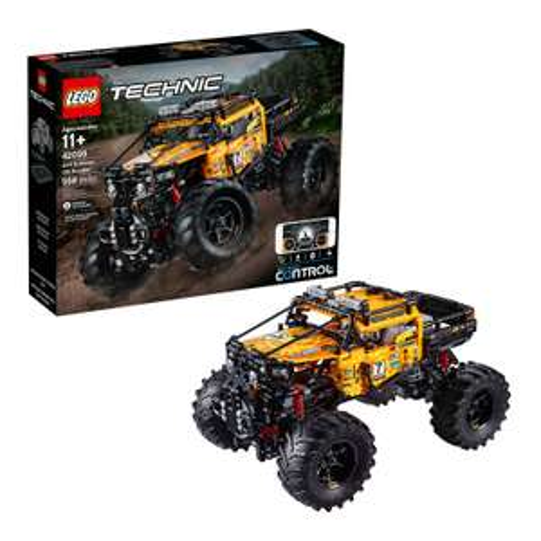 LEGO 42099 Technic Control+ 4x4 X-treme Off-Roader Truck App Controlled Construction Set £133 @ Amazon