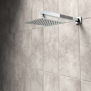 Victoria Plum rainfall showerhead sale prices from £29.99 / £89.99