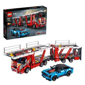LEGO 42098 Technic Transporter Truck and Show Cars, 2 in 1 Model, Construction Set £93 at Amazon
