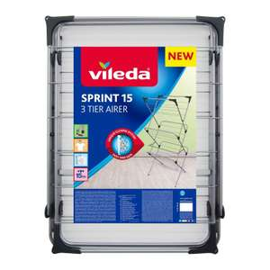 Vileda Sprint 15 3 Tier Airer £5 at Asda instore