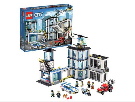 LEGO City Police Station, Helicopter Car & Bike Toys - 60141 £43 delivered at Argos