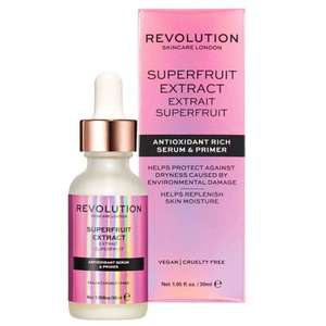 Save 1/3 on selected Revolution skincare - prices from £4.00, and free click & collect on £10 spend @ Boots