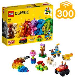LEGO 11002 Classic Basic Brick Set Building Kit (300 Pcs) Now £10.50 @ Argos