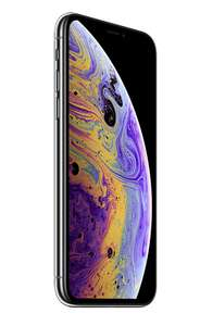 "Apple iPhone XS 14.7 cm (5.8"") 64 GB Dual SIM 4G Silver £694.84 @ ILGS"