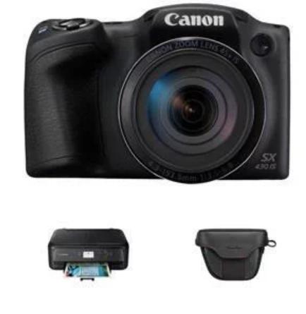 Canon SX430 45x Zoom Camera + FREE TS5150 Printer and Camera Case - £149.99 @ Argos