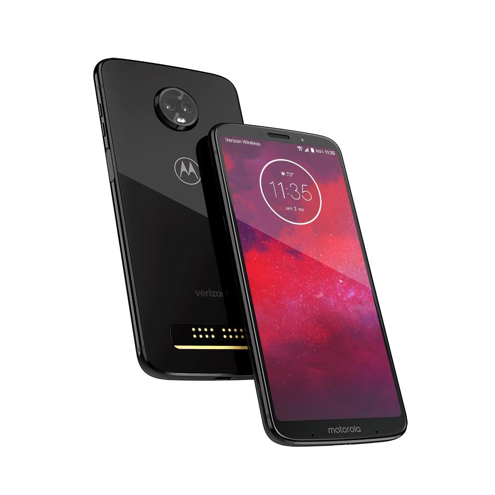 Motorola Moto Z3 Play (sim free) + Moto power pack & JBL Soundboost 2 speaker (dual sim) £229.99 at Lenovo UK