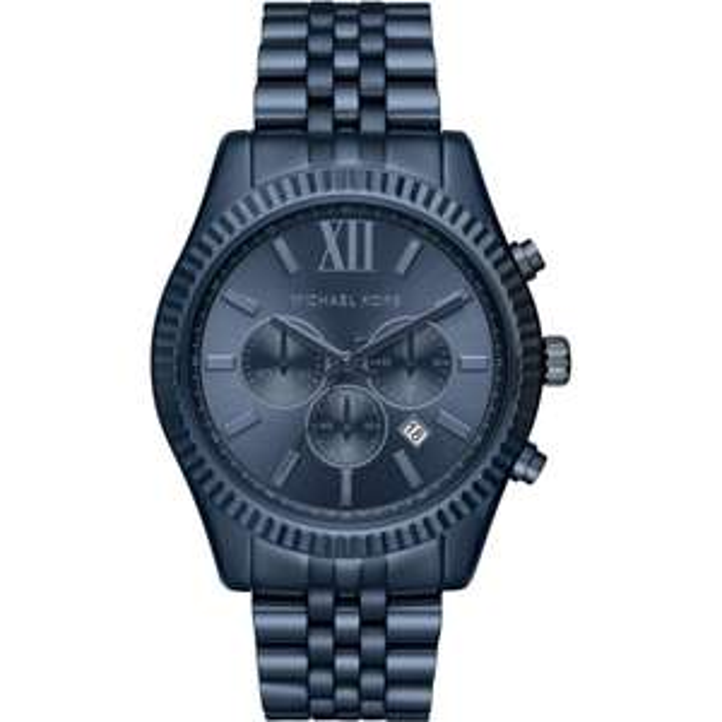 Michael Kors Mens Lexington Navy Chronograph Watch £76.67 Delivered @ Watches2U