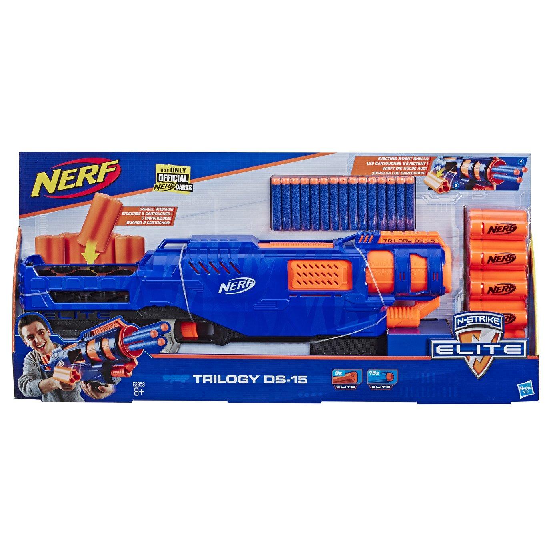 Nerf Elite Trilogy DS-15 N-Strike Toy Blaster £19.50 @ Argos