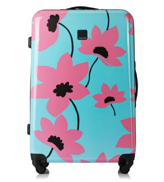 Suitcases extra 20% off sale e.g urquoise/ Flamingo 'Azalea' Large 4W Suitcase £39.60 @ Tripp