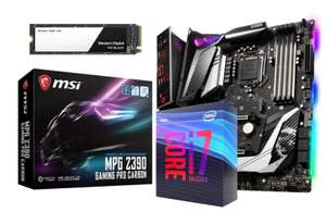 MSI MPG Z390 GAMING PRO CARBON Motherboard with Intel Core i7 9700K Processor Bundle £499.98 at Ebuyer