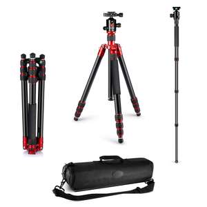 """Neewer Alluminum Alloy 63""""/160cm Tripod / Monopod / Max Load 15kg £32.12 Delivered Sold by Logicam UK and Fulfilled by Amazon - £32.12"""