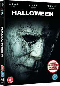 Halloween [DVD] [2018] £3.30 (£6.29 without Prime) @ Amazon.co.uk