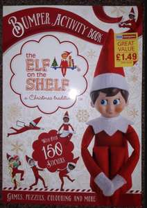 Official Elf on the shelf  activity book £1.49 @ Home bargains - Walsall