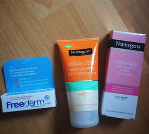 Reductions on selected skincare + 3 for 2 - £2.65 @ Boots instore - Newton Abbot store