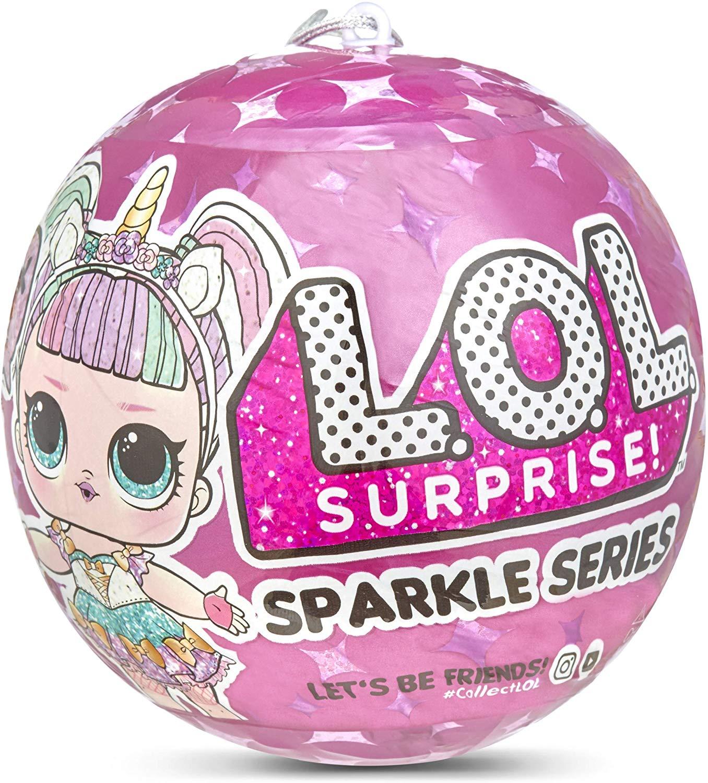 L.O.L. Surprise! 560296 L.O.L Sparkle Series with Glitter Finish and 7 Surprises, Multi - £8.50 Prime / +£4.49 non Prime @ Amazon