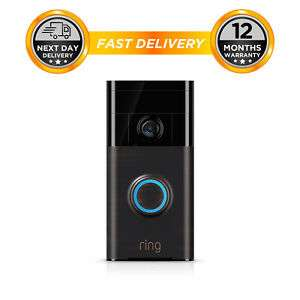 Ring Wifi Video Doorbell - Venetian Bronze - HD Wireless 720P works with Alexa £67.99 at hitechelectronicsuk eBay