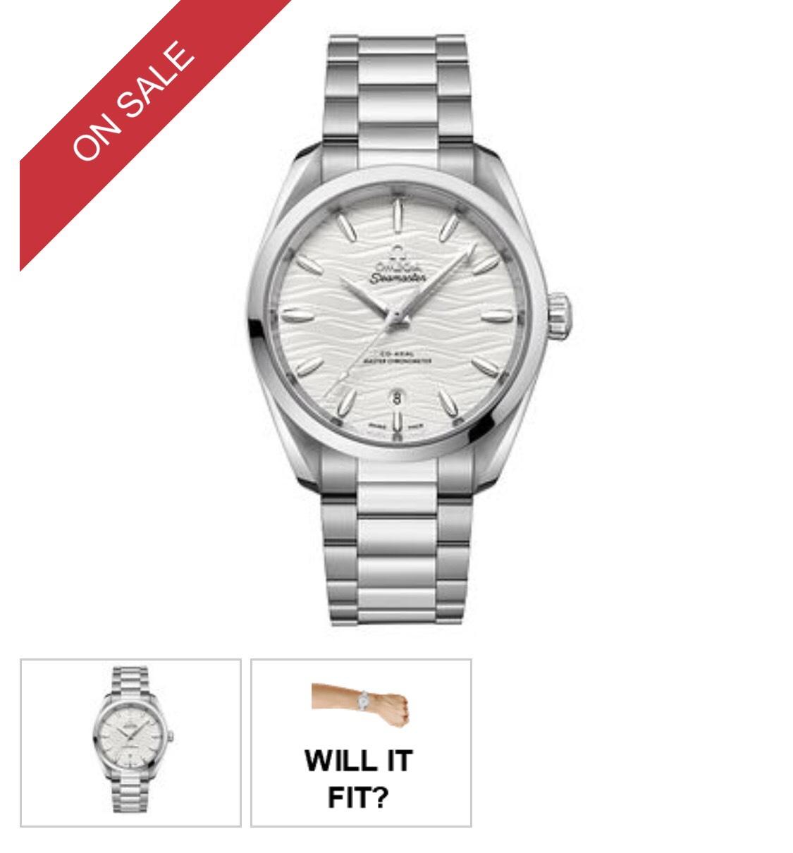 Omega Seamaster Aqua Terra Bracelet Watch - £3,250.00 @ Ernest Jones + Free Delivery