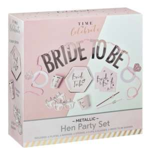 Bride to Be/Hen Party Kit £2 @ B&M St James Retail Park Newcastle