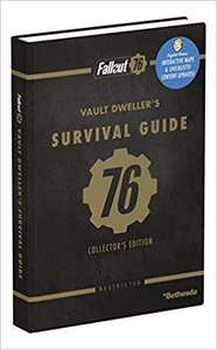 Fallout 76: Official Collector's Edition Guide Hardcover £4 Prime / £6.99 Non Prime @ Amazon