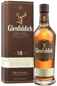 Glenfiddich 18 year old scotch malt whisky 70cl £59 @ Amazon