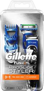 Gillette Fusion ProGlide Styler 3-in-1 Waterproof Trimmer for Man £10 at Amazon Prime / 14.49 Non Prime