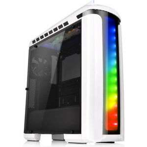 Thermaltake Versa C22 White Mid Tower Case with Tempered Side Window & RGB LED - Free shipping £43.38 at ebuyer_uk_ltd eBay