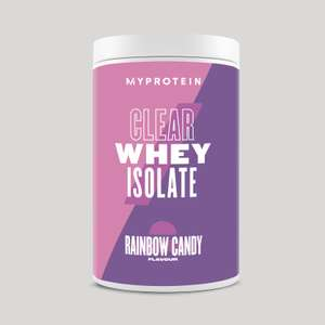MyProtein Clear Whey Isolate (new product) - £12.99 delivered using code