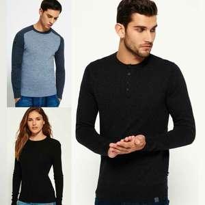 Superdry Men & Womens Knitted Jumpers - 25+ different styles now £17.99 delivered @ eBay / Superdry