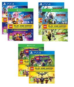 Lego Double Pack [PS4/XBOX ONE + BLURAY ] Ninjago/Lego Movie 2/ DC Supervillains for £22.95 Each Preorder @ The Game Collection