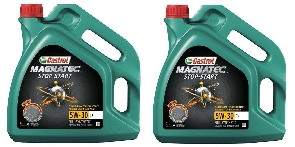 2 X 4L Castrol 5W-30 C3 oil for big oil changes I.e 3L engines - £38.39 @ Euro Car Parts eBay